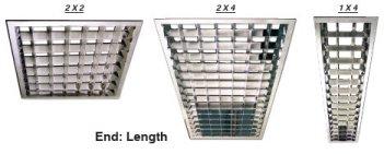 Acrylic Square Light Fixture